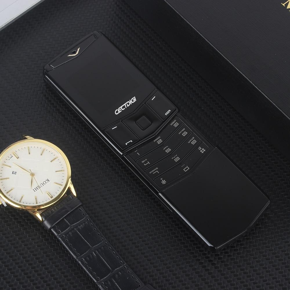 Роскошный телефон с металлическим корпусом Cectdigi V05 маленький мини с двумя sim-картами Filp Slide мобильный телефон Bluetooth волшебный голос Иврит Русский телефон