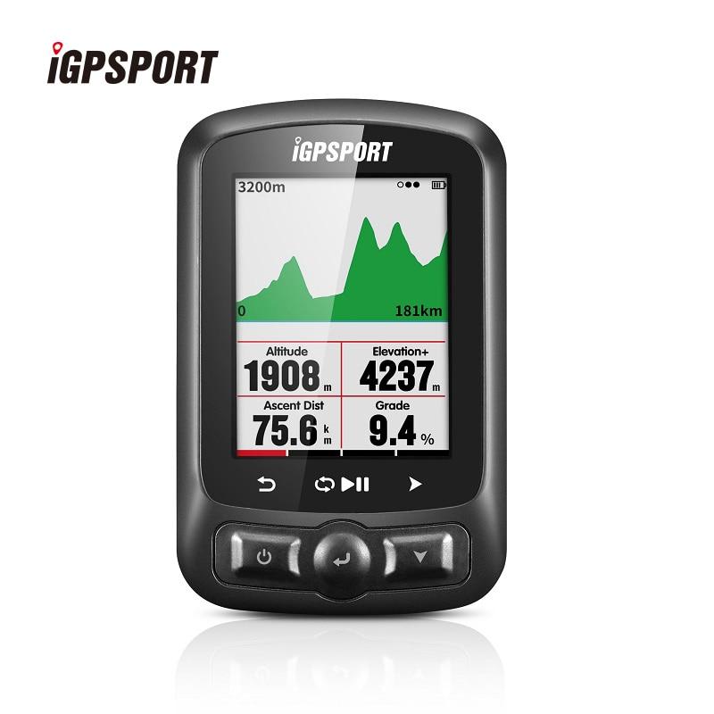 IGPSPORT 2.2 pouces écran couleur vélo ordinateur sans fil ANT + étanche IPX7 vélo ordinateur GPS + Glonass + Beidou chronomètre