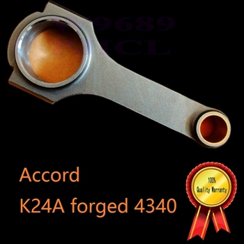 K24 engine stronger China turbos k24 Accord ex JDM type S k24 turbos K24A TSX H beam forged connecting rod for racing cars use