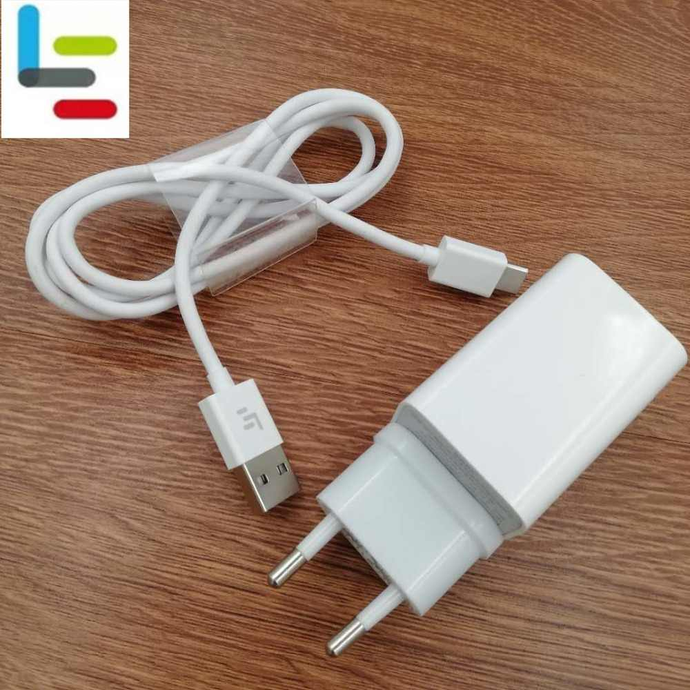 Original LETV Leeco 12V 2A QC3.0 Quick fast EU Charger Adapter + Type C Cable for LETV LE Pro 3 3S S3 1S 1 pro 2 max 2 PRO