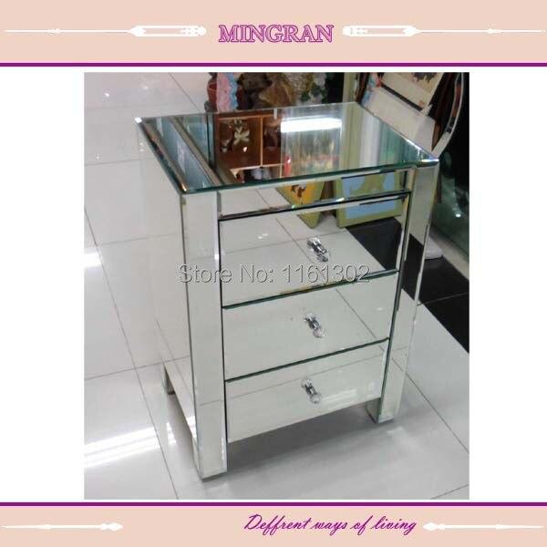 MR 401002 Smussato spigoli vivi mirroring comodino/tavolino/ragazzo ...