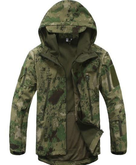 İsti açıq kamuflyaj paltolar kişi V5.0 Hərbi Taktik Ordu - İdman geyimləri və aksesuarları - Fotoqrafiya 2