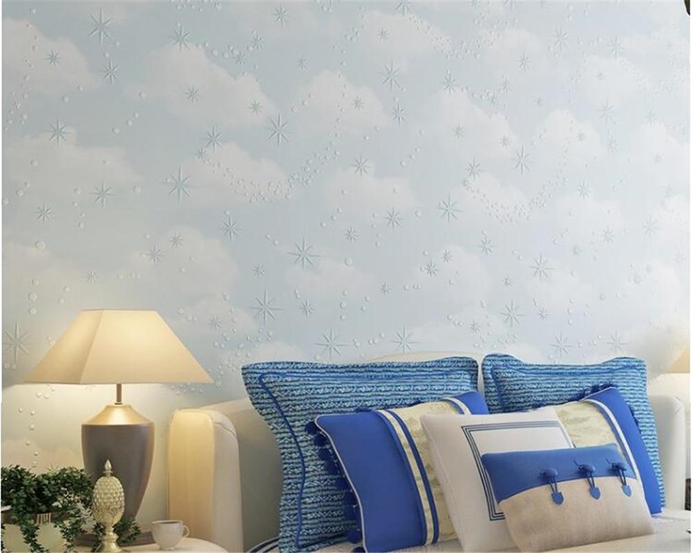 Ziemlich Kinderzimmer Wolken Tapete Bilder - Die Designideen für ...