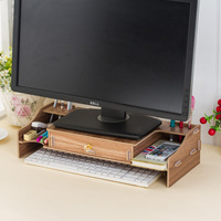 5 Styles Creative Style Promotion Portable DIY Assembly Organizer Desk Computer Table Stand Tray