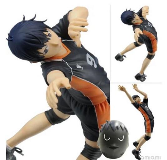 ФОТО Haikyuu Action Figures kageyama Tobio PVC 17CM Japanese Anime Volleyball Figures Toys kageyama Tobio