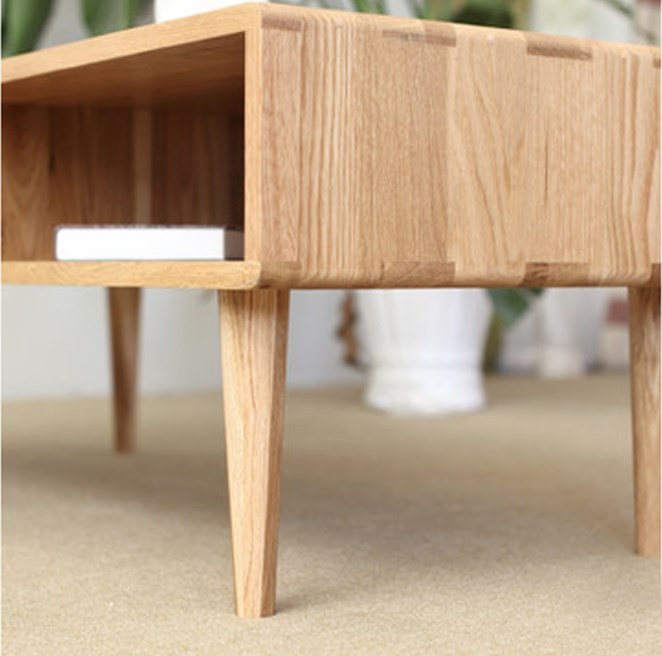 Anese Style Wood Furniture Living Room Coffee Table Leisure
