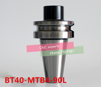 Nuevo 1 Uds BT40 MTB4 90L MTB Morse Taper holder  BT40 MTB4 para Morse Taper fresadora  Morse herramienta de fresadora shank|Soporte de herramienta| |  -