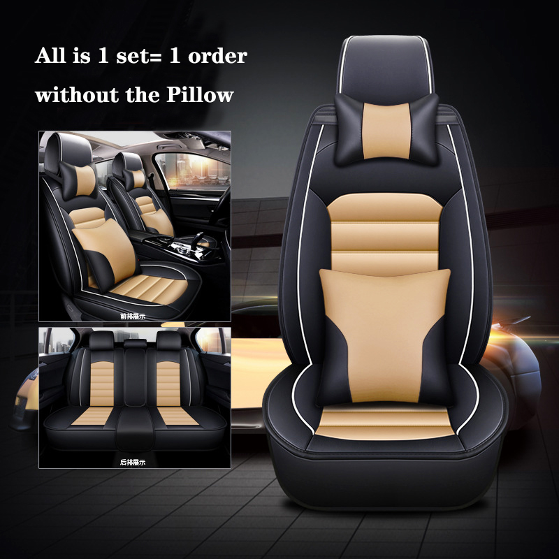Image 3 - 2019 new car seat cover four seasons use car seat cushion fit for 95% 5 seat car models PU leather seat cover freeshipping-in Automobiles Seat Covers from Automobiles & Motorcycles