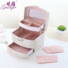 Automatic 3 layers Jewelry Box (5 colors)