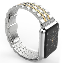 Stainless Steel Watchbands Bracelet For IWatch Apple 38mm 42mm Metal Strap