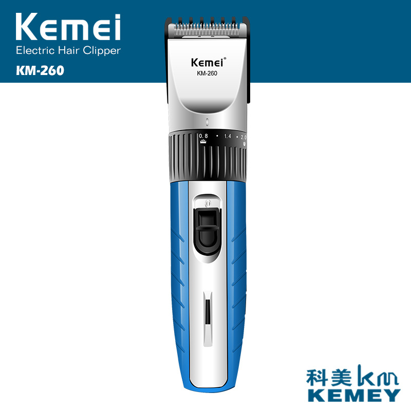 Kemei Electric Hair Clipper Rechargeable Hair Cutting Hair Beard Trimmer Styling Tools Shaving Machine Shaver for Man Barber professional hair clipper electric hair trimmer hair cutting machine hairdressing styling hair shaving tools barber family use