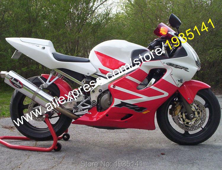 Hot Sales,For Honda CBR600 F4i 2001 2002 2003 CBR600F4i 01 02 03 CBR 600 F4i Red White ABS Motorbike Fairing (Injection molding)