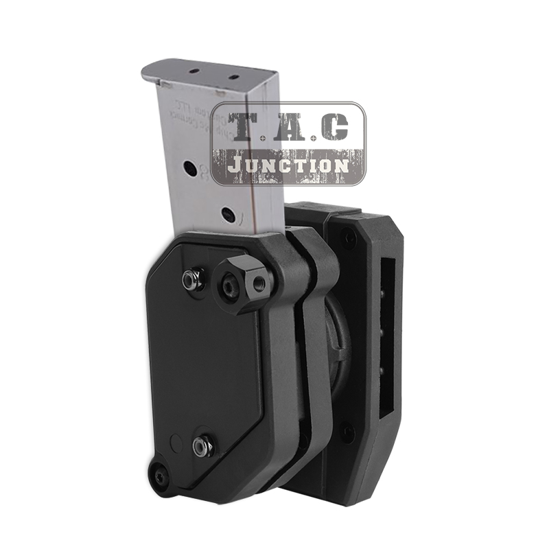 IPSC IDPA USPSA 3-GUN Magazine Holster For Single Stack & Double Stack High Speed Shooting Competition Multi-Angle Mag Pouch