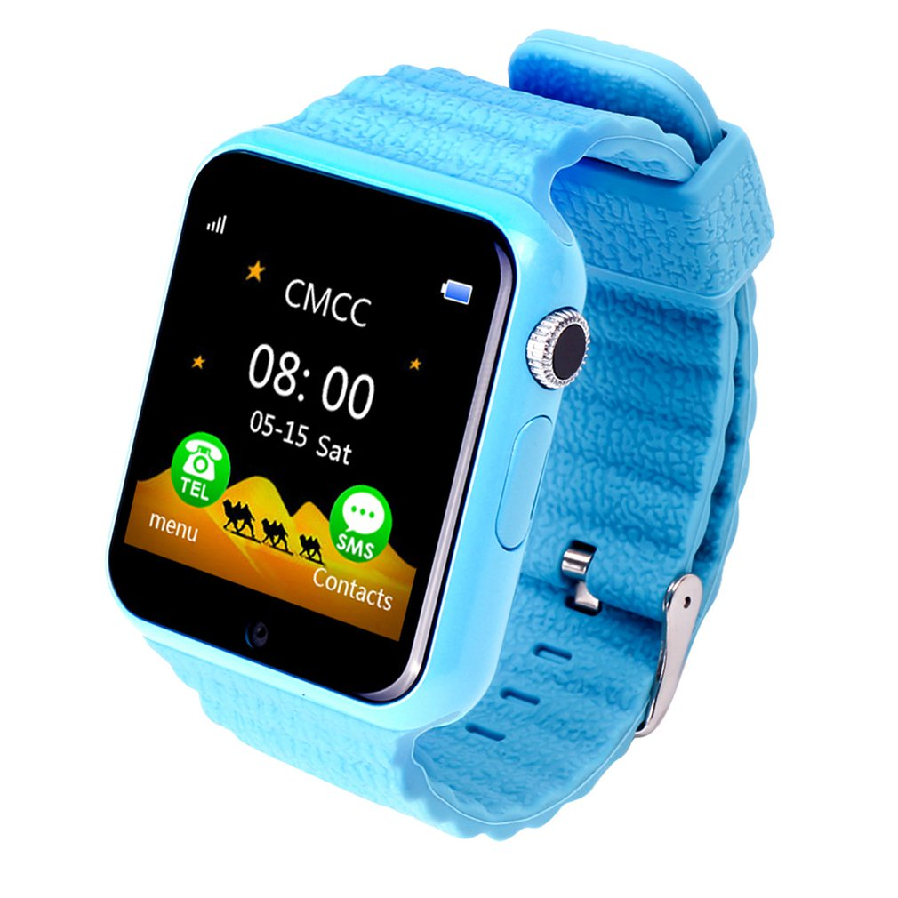 Children Smart Watch GPS Tracker Anti Lost Monitor SOS Call Children's Smart Camera Phone Watch 1.54 Inch Screen