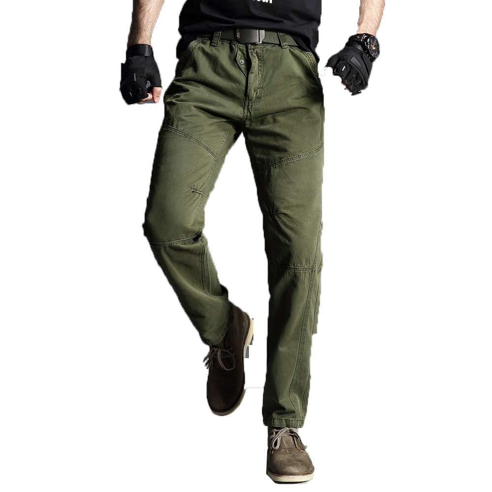 2019 Mens Cargo Pants Men Joggers Boost Military Casual Cotton Pants Hip Hop Ribbon Men Outdoors High Quality Long Army Trousers