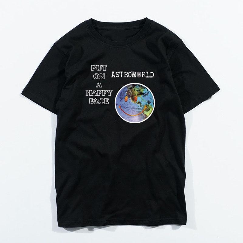 Men/'s Fashion 2018 T Shirt Travis Scott/'s Cactus Jack Records Gildan Tee