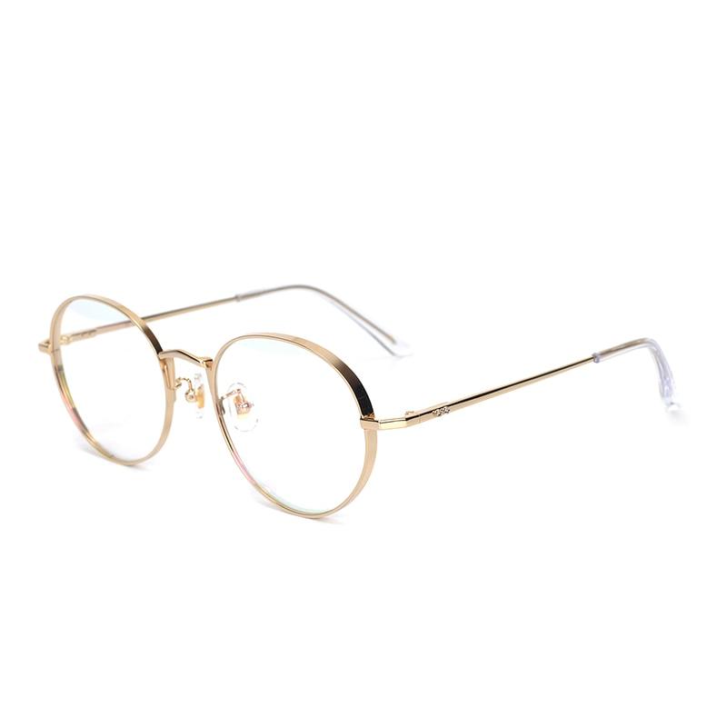 Image 3 - Pure Titanium Glasses Frame Men Round Prescription Eyeglasses Eyewear Vintage Retro Myopia Optical Eye Glasses Women Spectacles-in Men's Eyewear Frames from Apparel Accessories