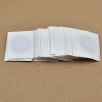 100pcs Lot 25mm Round Epaper Rfid Label Sticker Tag13 56MHz ISO1443A NTAG215 NFC Sticker For All
