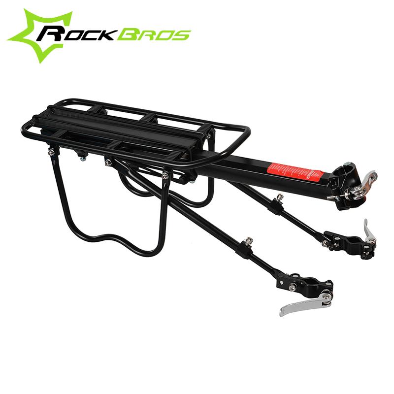 ROCKBROS All Of Quick Release Bicycle Rear Rack Aluminum Alloy MTB Bike Carrier Holder Cycling Cycle Traveling Luggage Rack
