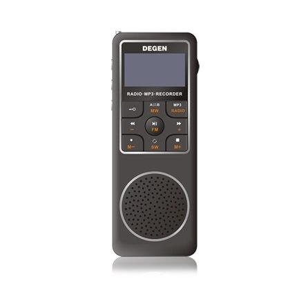 Radio Degen De15 Fm Stereo Mw Sw Fml Lcd Radio Welt Band Empfänger Alarm Quarz Uhr Unterhaltungselektronik