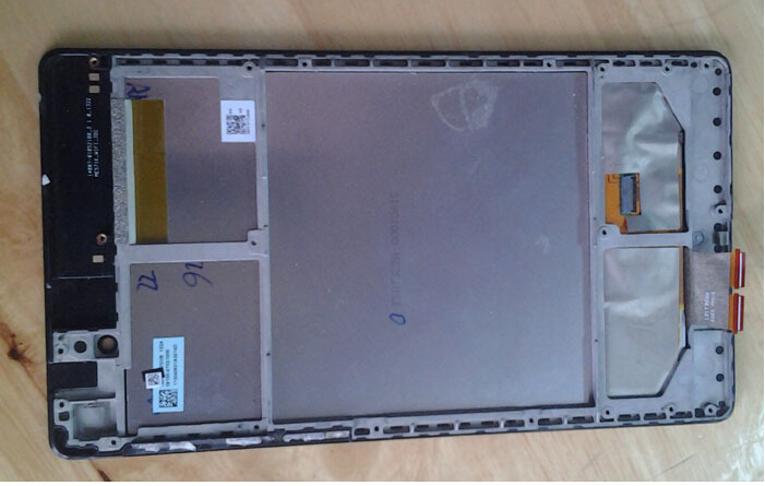 ФОТО High quality LCD Touch Screen Digitizer Assembly with border for 2013 Asus Google Nexus7 Nexus 7 FHD 2nd Gen wifi version