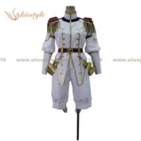 Kisstyle Fashion Ixion Saga DT Erecpyle Dukakis Uniform COS Clothing Cosplay Costume Customized Accepted