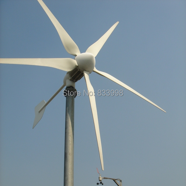 Wind Power Parts : Hye wind power system parts turbine generator w
