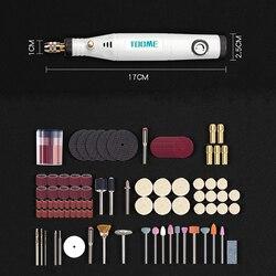 18 V 電源ツール電動ミニドリル研削アクセサリーセットで 0.3-3.2 と多機能ミニ彫刻ペンのための dremel ツール