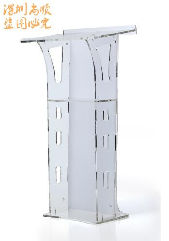 Logo Customize Modern And Stylish 2019 Detachable Free Shipping Truth Ministries Christian Clear Acrylic Lectern Cheap Church