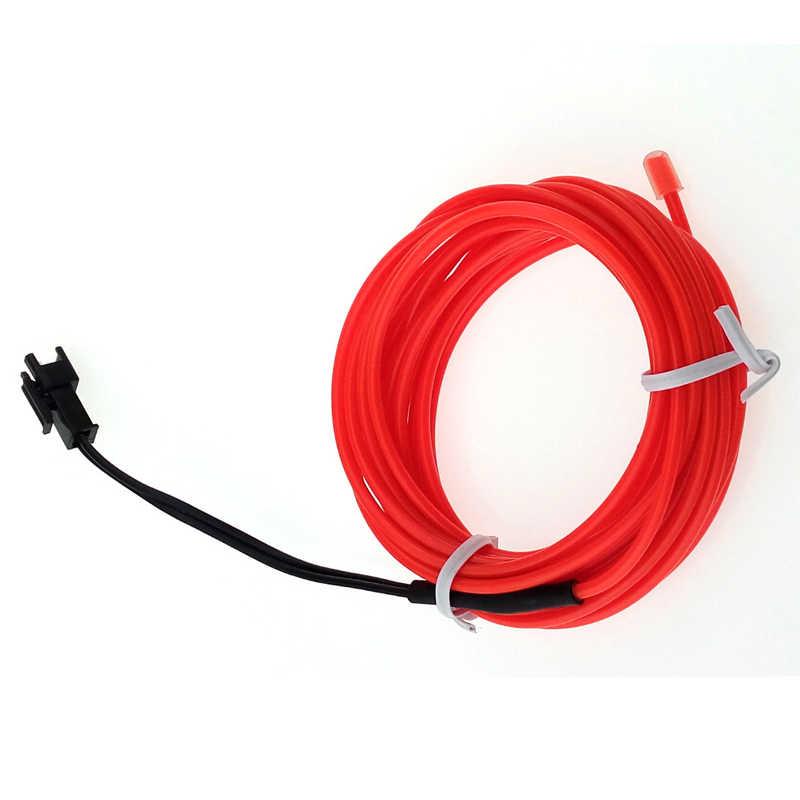 1 м/2 м/3 м/5 м Светодиодная лента 3 в неоновый свет светящийся EL провод изолента кабель для обуви Одежда для автомобиля вечерние украшения