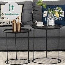 Луи моды простой и простой диван гостиной небольшой квартиры круговой формы