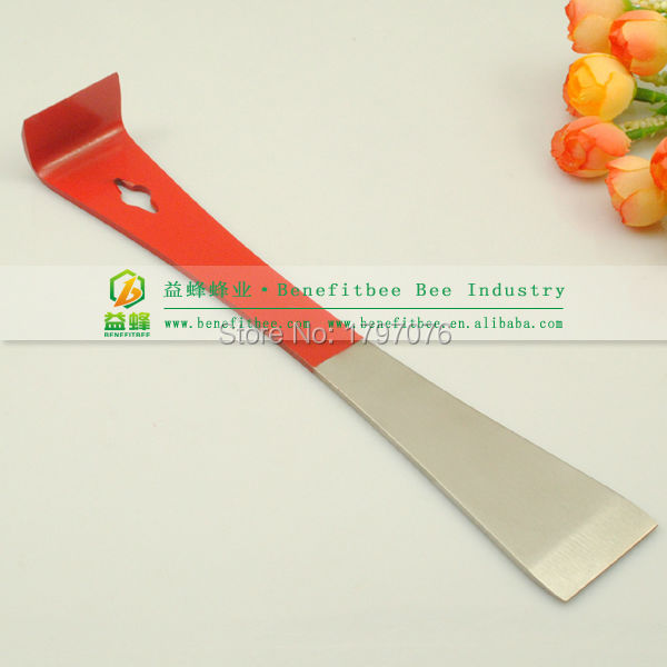 Highly Recommend Long Model Red Flat Hivetool 26cm for Scraper Cleaning Beehive Best Beekeeper Hive Tools