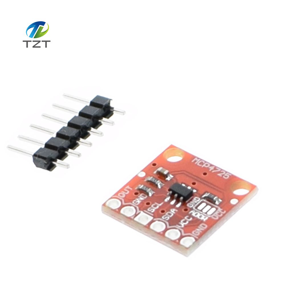 5pcs/lot MCP4725 I2C DAC Breakout module development board5pcs/lot MCP4725 I2C DAC Breakout module development board