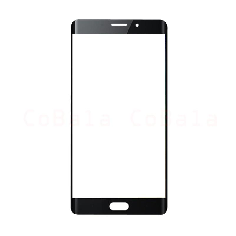 10Pcs Lot Original Black For Xiaomi Mi Note2 Note 2 Front Glass 5 7 Touch Screen