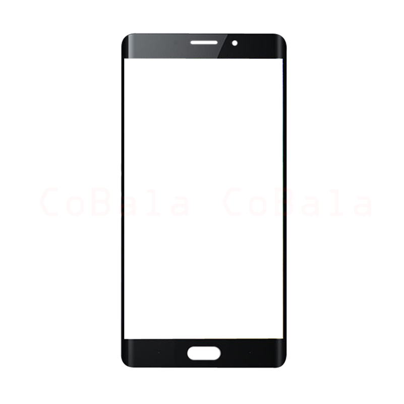 10Pcs Lot Original Black For Xiaomi Mi Note2 Note 2 Front Glass 5 7 Touch Screen