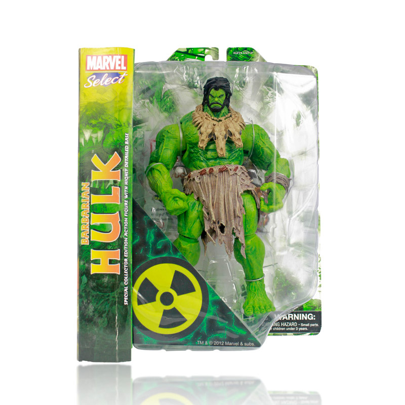 ФОТО EMS Free shipping 12pcs/lot HOT SALE MAVEL AMERICAN HERO The Avengers The barbarians type NEW Hulk Action Figures Toy HRFG077