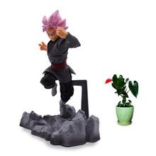 Anime Dragon Ball Z Super Soul X Son Goku Black Zamasu PVC Action Figure Doll Model Toy Christmas Gift For Children