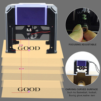 1000mW Miniature Laser Engraving Machine Carving Engraver Carver AC100 240V Automatic DIY Handicraft Wood Burning Tools