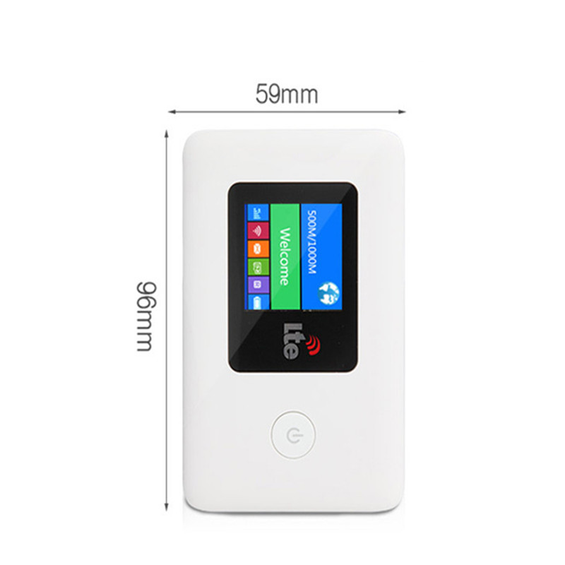Unlocked Mobile 4G 3G LTE Mini WiFi Router Pocket Wireless Hotspot Wifi Router Power Bank With SIM Card Slot 2100mAh Battery 4g wifi router unlocked 3g 4g lte travel router 5200mah power bank fdd lte car wifi router with sim card slot up to 10 users