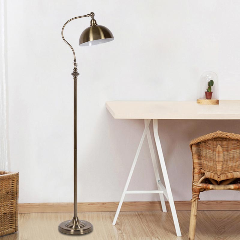 Modern Floor Light Classic Living Room Bedroom Adjustable Direction Standing Lamp Copper Color Lamp Stand Home Lighting BLF515 modern 9w 12w 15w led floor lamp remote dimmable stand lights living room piano reading standing lighting led floor lighting