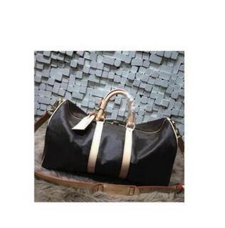 Nouveau sac de voyage de mode femmes sac à main grande taille keepall sac en cuir véritable avec livraison gratuite de haute qualité