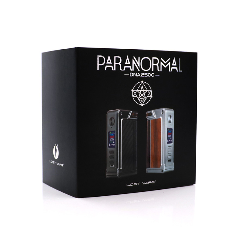 Original LOST VAPE Paranormal DNA250C box mod 200W DNA250