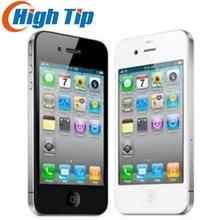 Бесплатный подарок! Apple iphone 4G 8 GB/16 GB/32 GB заводской разблокированный сотовый телефон 3,5 дюймов GPS WIFI 5MP 1 год гарантии