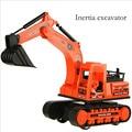 Children's toys toys simulación excavadora inercial camión inercia modelo de simulación