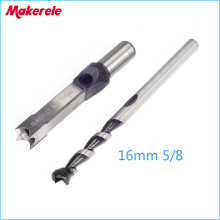 цена на drill bit 16mm 5/8'' Woodworking Square Hole Bits Drill Mortising Chisel Set wood tools Mortiser Drill Bit Set