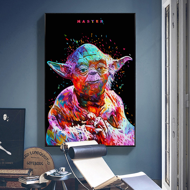 Game Star Wars Art Silk Poster HD Canvas Painting Movie Wall Pictures For Living Room Home Decoration Posters And Prints LS031 1