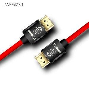 Image 2 - Высокоскоростной кабель HDMI 1 м 2 м 3 м 5 м 10 м 6 футов видео 4K 2160p HD 1080p 3D   Xbox PlayStation PS3 PS4 TV PC