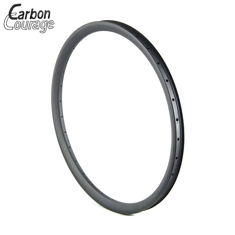 Super Light 29er XC Offset Mountain Carbon Rims 28mm Width 29'' MTB UD Matte Carbon Rim Mtb 29 Inch Clincher Carboron Wheelset factory direct mountain bike clincher wheelset 29 inch 27 5er carbon mtb wheels 29er 650b carbon mtb wheels tubeless rims
