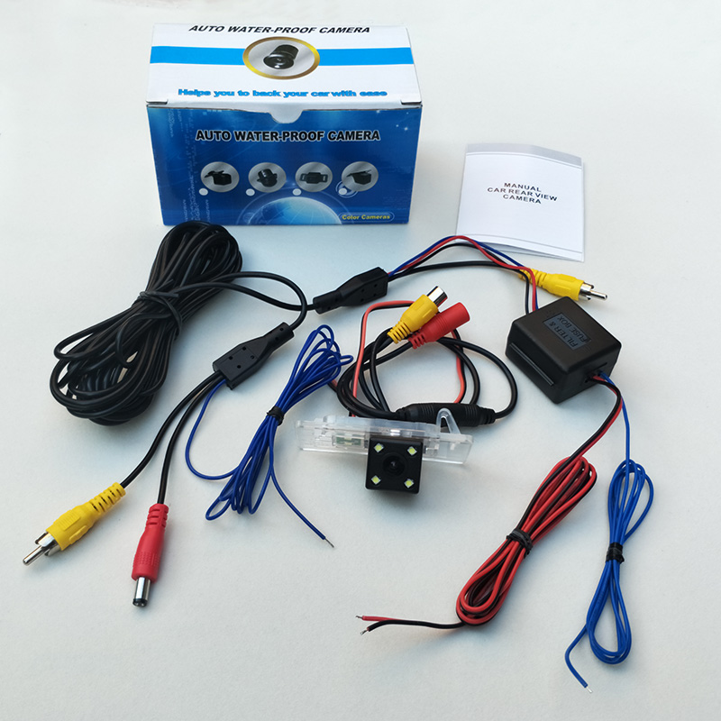 The rear view camera is suitable for Audi A3 S3 RS 3 Q3 RS3 RSQ3 (8V, 8U) / night vision HD wide angle vehicle Backup Camera / R
