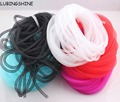 Diameter 8mm Bracelet Mesh Cord Tubing Tube Plastic Net Thread Cord String DIY Jewelry Making Cord Findings JJAL O106